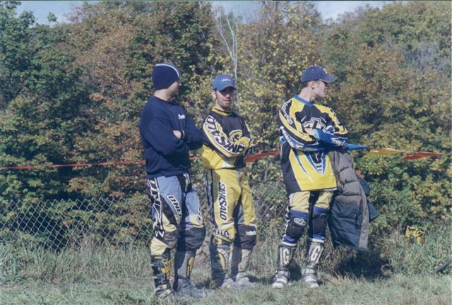 Alan, Rob, and Aaron at Beaver Valley MX