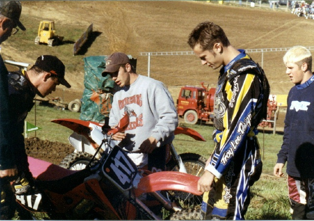 Travis, Tom, and Aaron at High Point