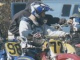 Aaron and Neal (#72) on the gate at Pleasure Valley Raceway.
